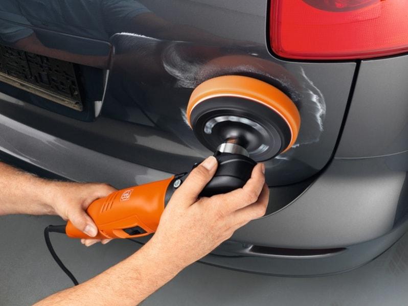 Как своими руками заполировать царапину на машине